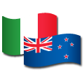 Designed in Italy, created in New Zealand icon