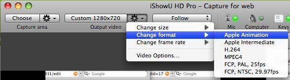 format  setting